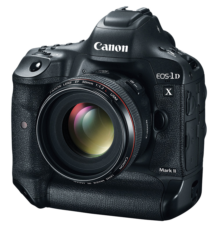 The new flagship Canon EOS-1D X Mark II features both a CompactFlash and a CFast slot for added versatility.