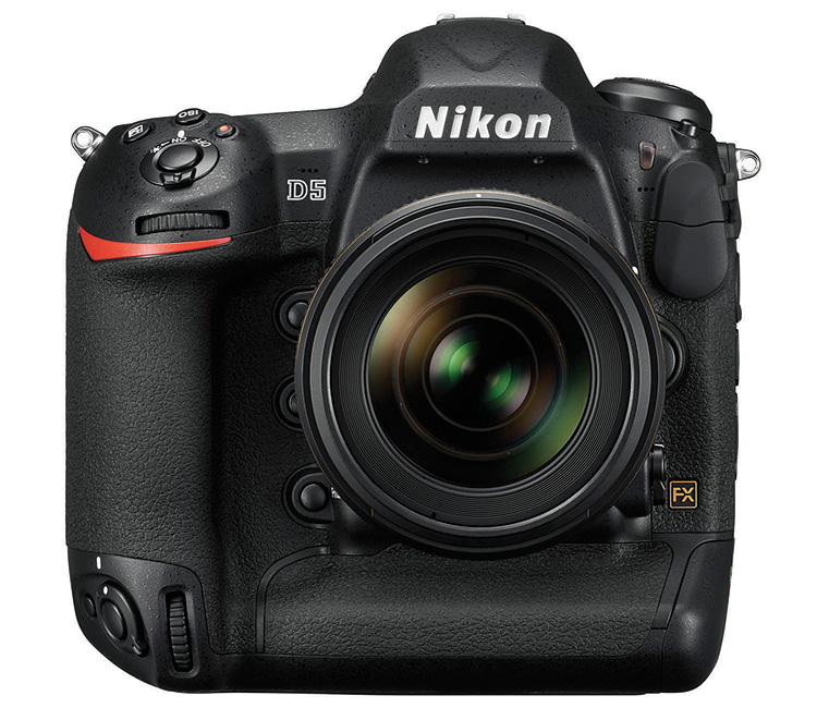 The new Nikon D5 comes in both a CompactFlash and an XQD version, allowing users to select a camera based on their storage card workflow.