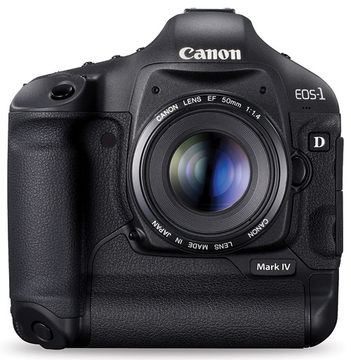 Current cameras like the Canon EOS-1D Mark IV are pushing the bounds of high-speed shooting.