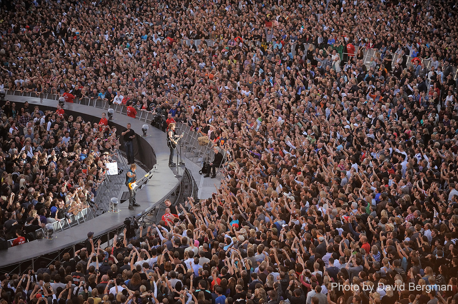 Photo ©2011 David Bergman for http://www.TourPhotographer.com - Bon Jovi official photos from the Open Air 2011 tour at the Letzigrund Stadium in Zurich, CH on July 14, 2011.
