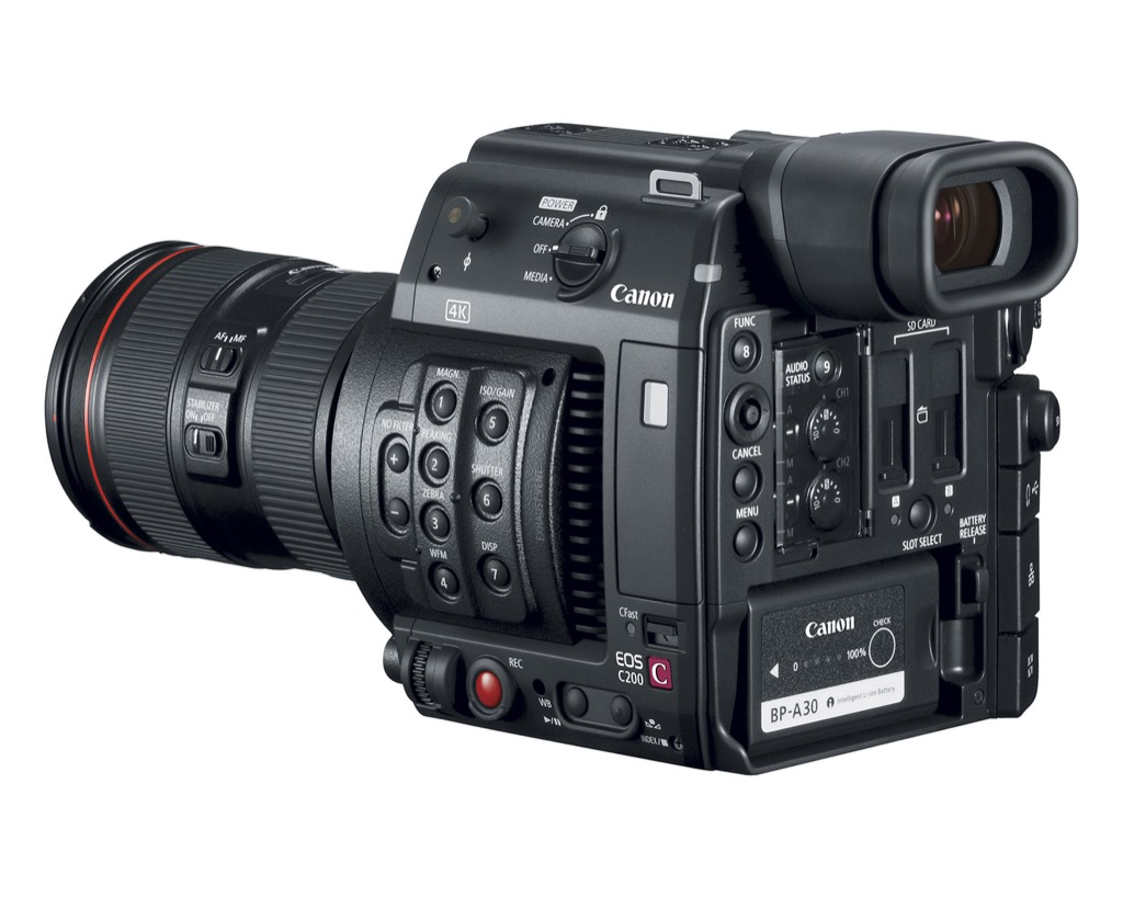 Canon EOS C200 and C200B