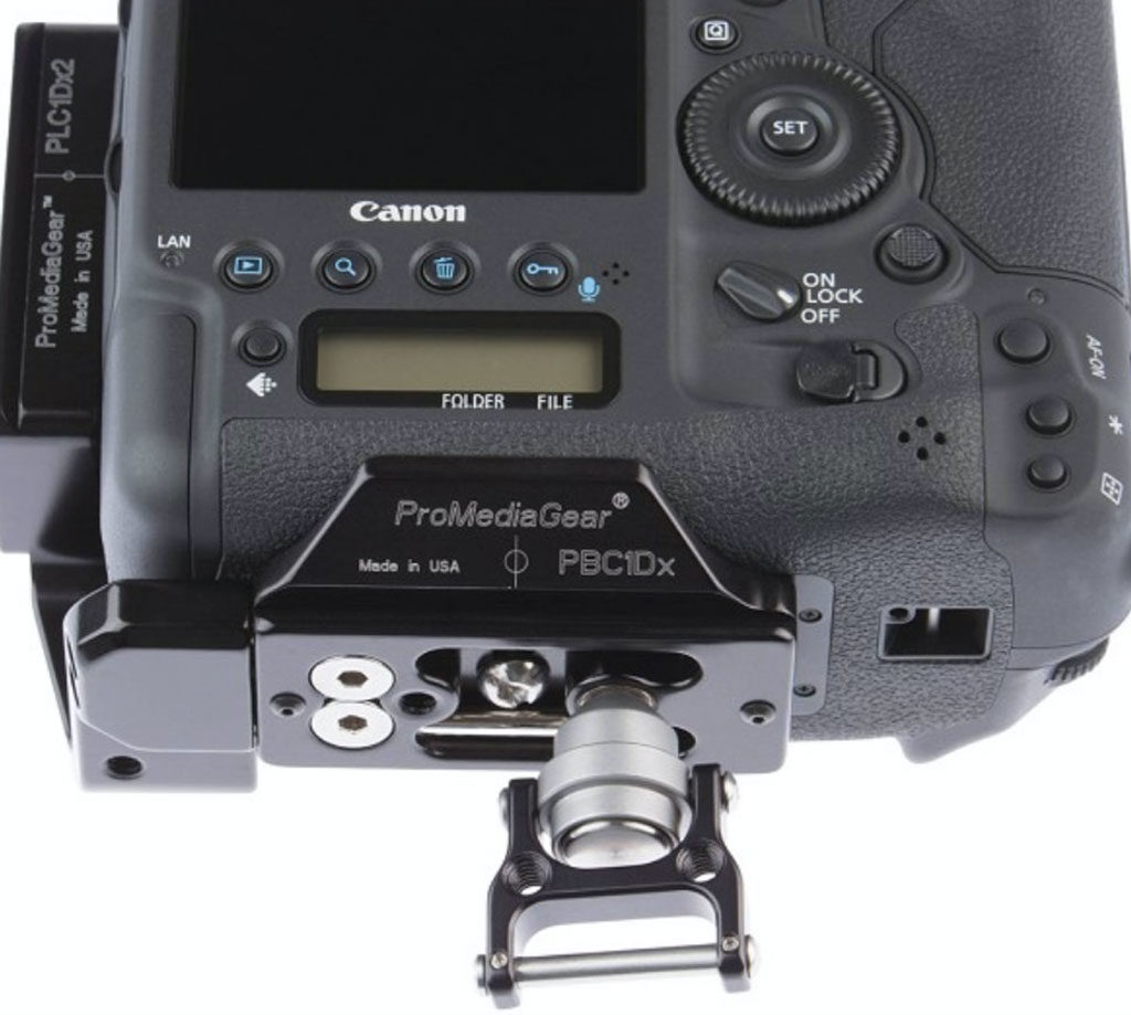 ProMediaGear camera strap adapter
