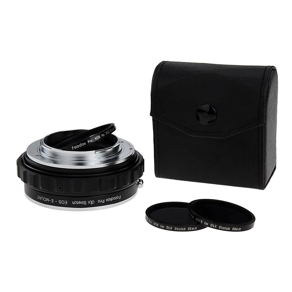 Fotodiox introduces the DLX Stretch Lens Mount Adapters, a versatile new series of 24 lens adapters for mirrorless cameras