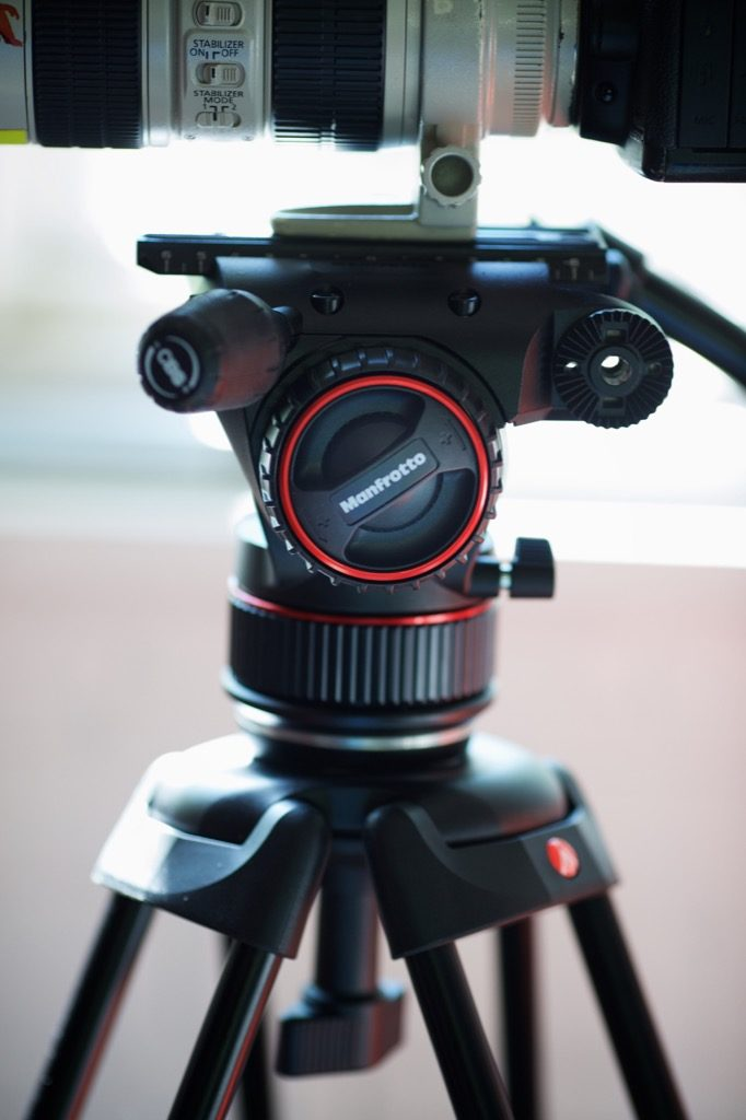 Manfrotto's Nitrotech N8 video head and tripod