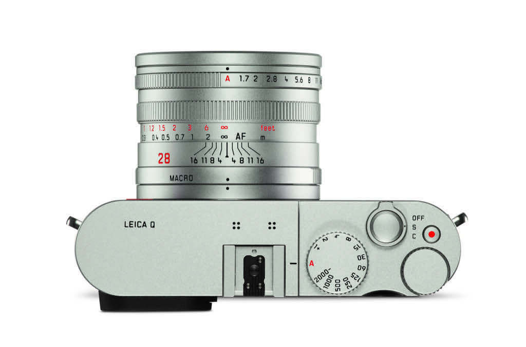 Leica Q (Typ 116) Silver Anodized camera