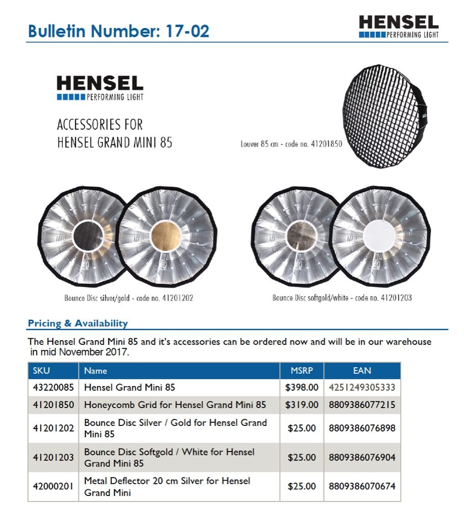 Hensel lighting solutions